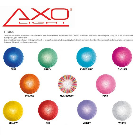 MUSE COLOR PLAFON / KINKIET AXO