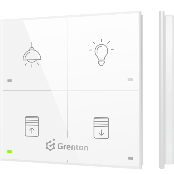 TOUCH PANEL 4B Grenton CUSTOM ICONS | OMRA